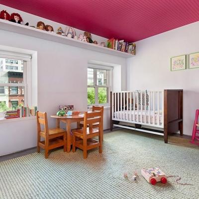 Wednesday inspiration! #Natural fibers lend a hand in creating a fun, playful environment. #Naturalfibers #CustomRug #Playroom #KidFriendly #Kidsroom #ChildrensRoomDecor#AronsonsFloorCovering