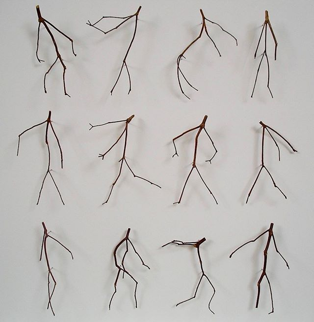 """Artist @chriskenny.art calls this amazing piece """"Twelve Twigs."""" We call it """"Flossing Twigs."""" . .. … …. ….. …… ……. …….. #aronsonsfloorcovering  #customrugs #textiledesign #carpets #rug #handmadecarpet #handweaving #wool #handtufted #dscolor #texture #color #traditional #contemporary #interiordesign #interior123 #decor #design #architecture #naturalfibers #custommade #ABMlifeiscolorful #modernhome #dstexture #dscolorstory #ihavethisthingwithtextiles #ihavethisthingwithfloors"""