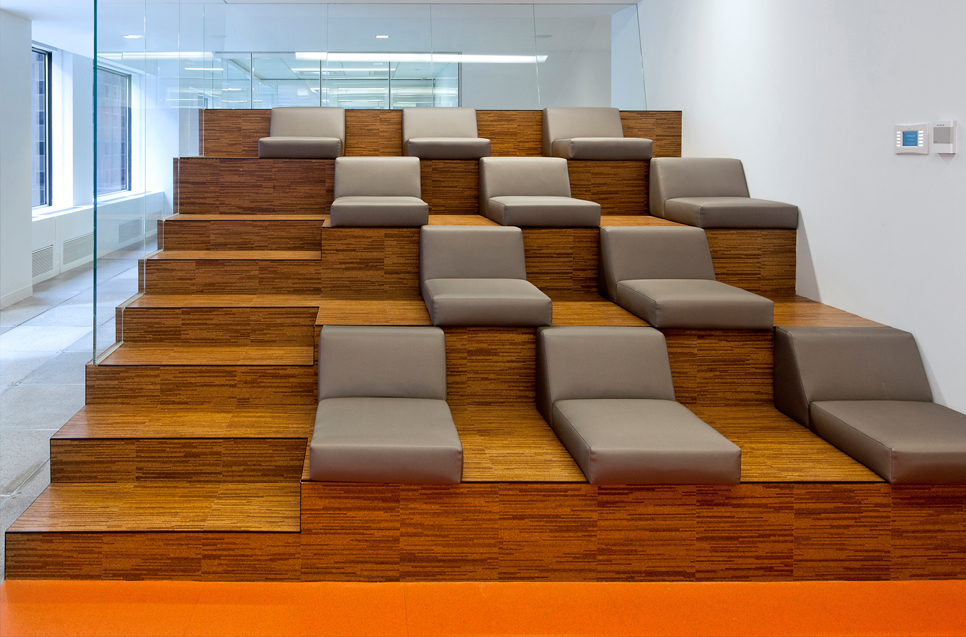 Pre-finished Commercial Cork Flooring : Aronsons